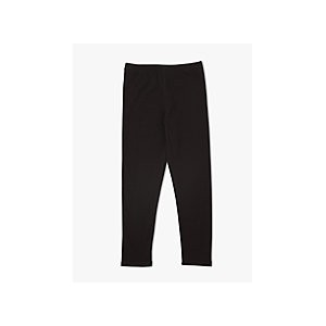 John Lewis & Partners Girls Basic Leggings, Black