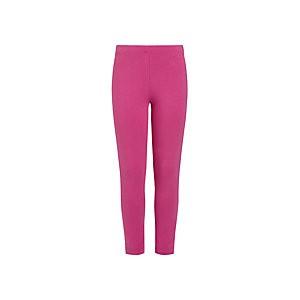 John Lewis & Partners Girls Basic Leggings, Pink