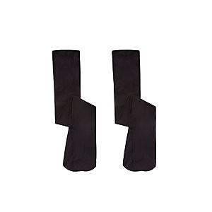 John Lewis & Partners Girls Thermal Tights, Black