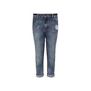 John Lewis & Partners Girls Jeans, Blue