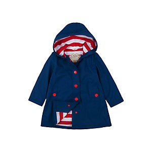 Hatley Girls Splash Jacket, Navy