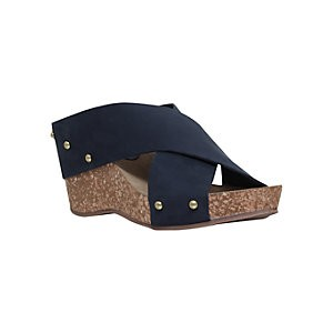 Carvela Comfort Sooty Cross Strap Wedge Heel Sandals, Gold Leather