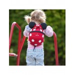 LittleLife Minnie Mouse Toddler Backpack, Red