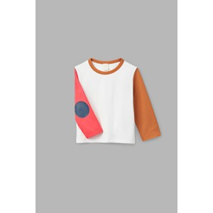 ELBOW PATCH LONG-SLEEVED T-SHIRT