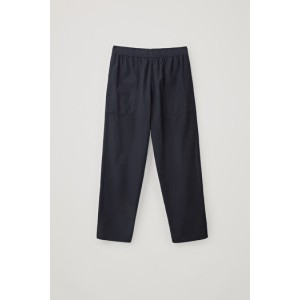 ELASTICATED LIGHTWEIGHT TROUSERS
