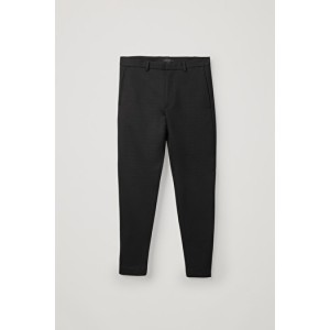 LONG-LENGTH ZIP-CUFF TROUSERS