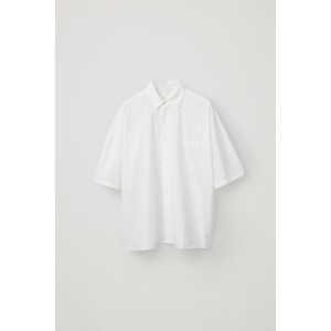 RELAXED COTTON-POPLIN SHIRT