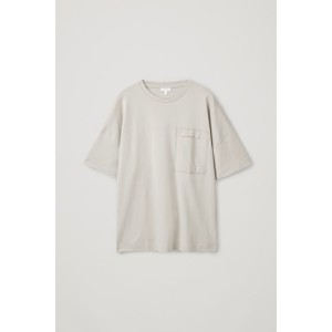 OVERSIZED T-SHIRT WITH PATCH POCKET