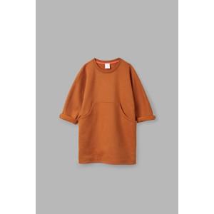 FRONT-POCKET JERSEY DRESS