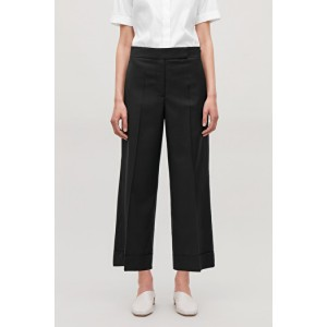 RELAXED WIDE CUFF TROUSERS