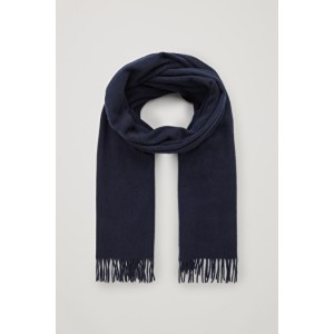 RECYCLED WOOL-CASHMERE SCARF