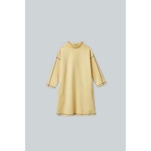 ZIP-UP COTTON DRESS