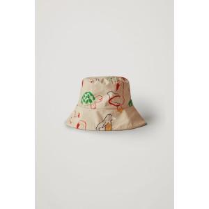 PRINTED COTTON BUCKET HAT
