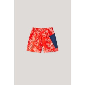 PRINTED SHORTS WITH PATCH POCKET