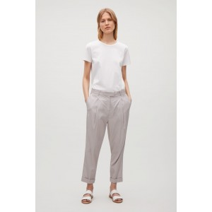 RELAXED TROUSERS WITH PLEATS