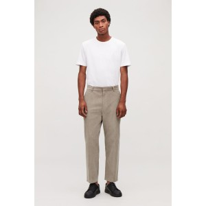 TAPERED CORDUROY TROUSERS