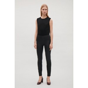 SLIM-FIT TROUSERS WITH ZIP