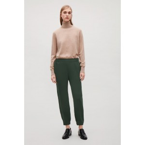 ELASTIC WAIST AND CUFF TROUSERS
