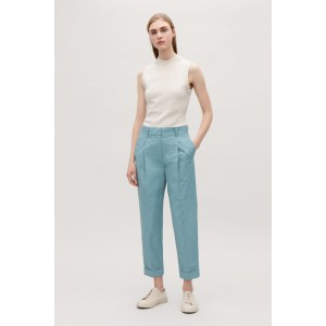 TECHNICAL PLEATED TROUSERS