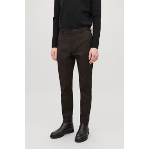 SKINNY STRETCH-COTTON TROUSERS