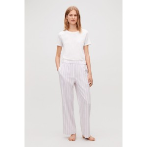 COTTON-FLANNEL PYJAMA TROUSERS