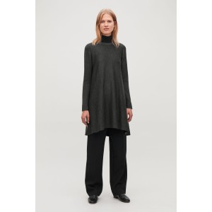 DOUBLE-FACE MERINO WOOL DRESS