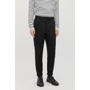 RELAXED SEERSUCKER TROUSERS