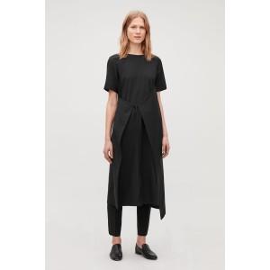 ASYMMETRIC TIE DRESS