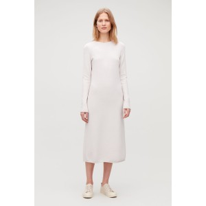 LONG MID-WEIGHT KNIT DRESS