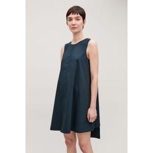 DOUBLE-LAYER SLEEVELESS DRESS