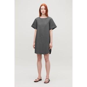 LIGHTWEIGHT-COTTON A-LINE DRESS