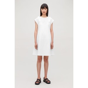 KNOTTED DOUBLE LAYER DRESS