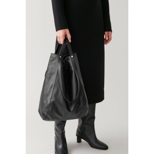 VERSATILE LEATHER SHOPPER