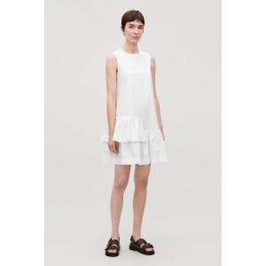 FRILLED SLEEVELESS DRESS