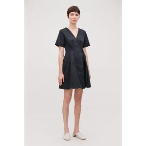 BELTED KIMONO-SHAPE DRESS