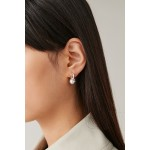 STERLING SILVER EARRINGS WITH BALL DETAIL