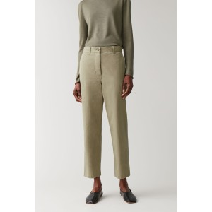 RELAXED COTTON CHINOS