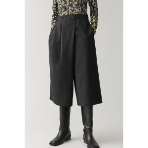 WOOL PANTS WITH WRAP DETAIL