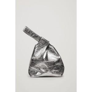 LEATHER WRISTLET BAG