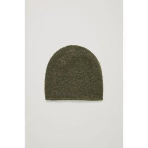 WOOL-MIX BEANIE HAT