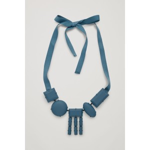 RUBBER-COATED SHORT NECKLACE