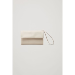 LEATHER CLUTCH WITH CARD SLOTS