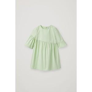 ASYMMETRIC-FRILL DRESS