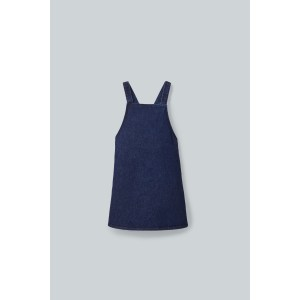 STRUCTURED APRON DRESS