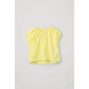 COTTON TOP WITH ELASTIC DETAIL