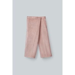 WRAP CORDUROY PANTS