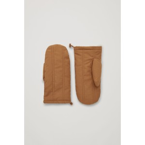 PADDED COTTON MITTENS