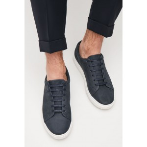 SLIM-SOLE LACE-UP SNEAKERS