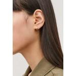 GOLD-PLATED MICRO HOOP EARRINGS