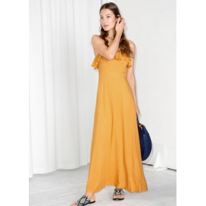 Flowy Ruffle Maxi Dress